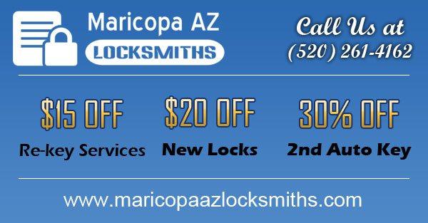 Maricopa AZ Locksmiths Coupon